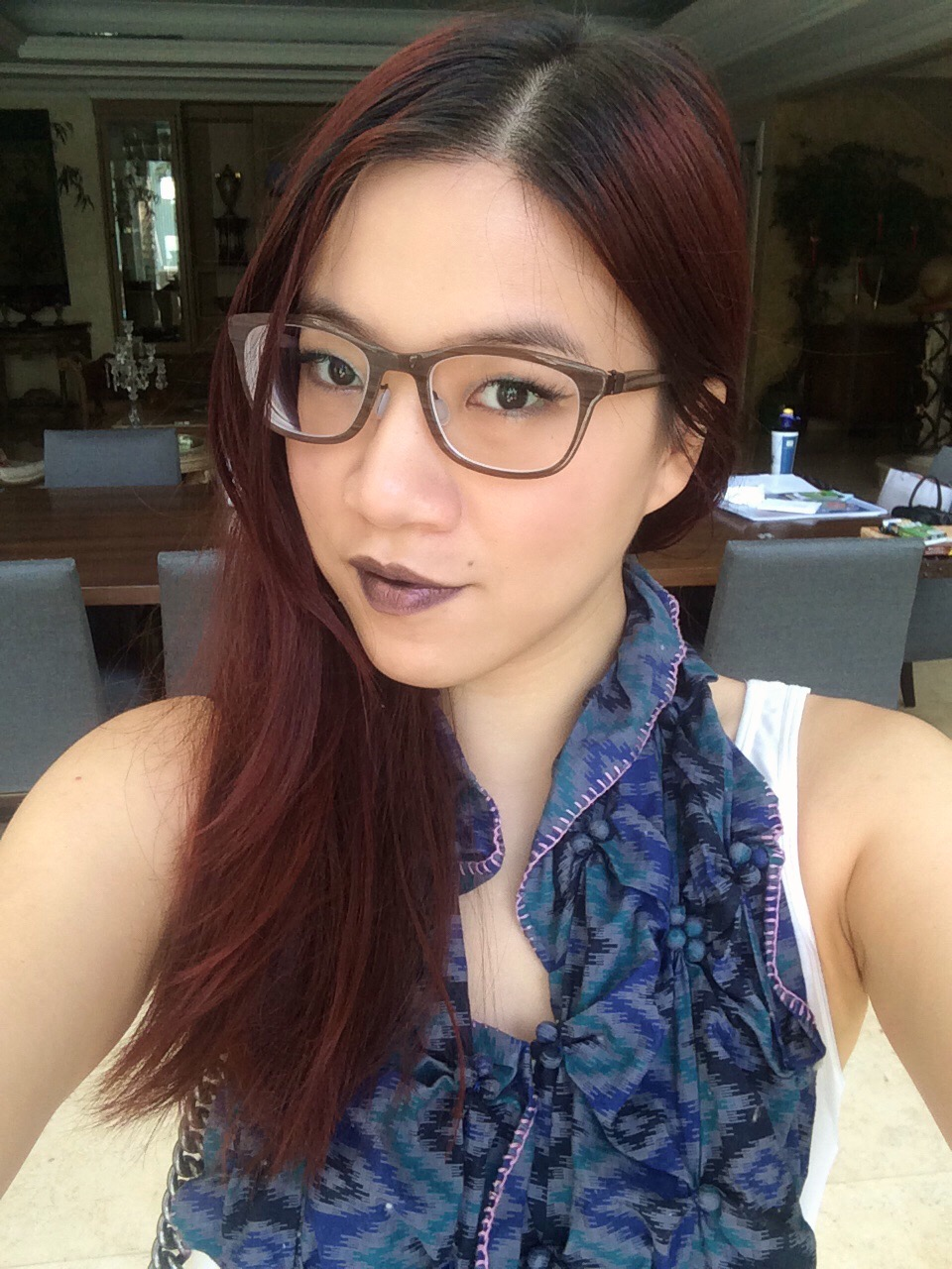 WorkingWithMonolids: Makeup With Glasses