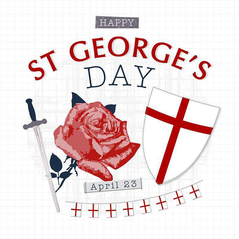 St. George's Day Wishes for Instagram