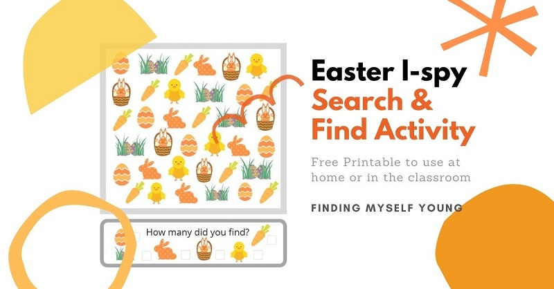 Easter free i-spy printable
