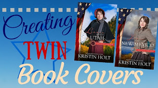 Kristin Holt | Creating Twin Book Covers