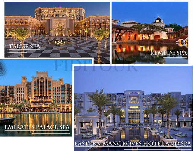 Spa trang trí siêu sang chỉ có ở Dubai