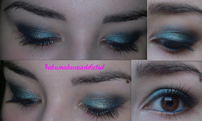 makeup of the day verde
