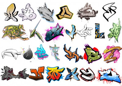 Graffiti Alphabet