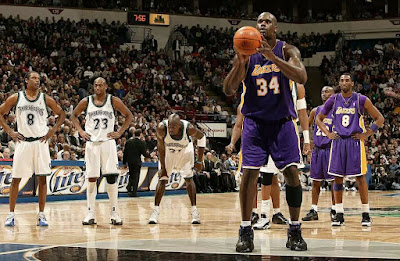 Shaquille O'Neal - free throw record