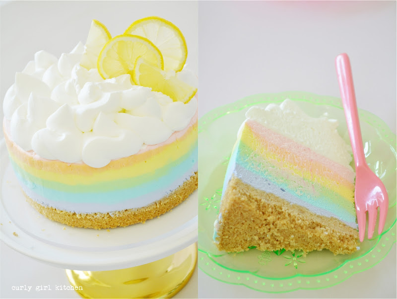 Rainbow Cheesecake, No-Bake Cheesecake, Rainbow Party, Easter Desserts, Cheesecake, Summer Desserts