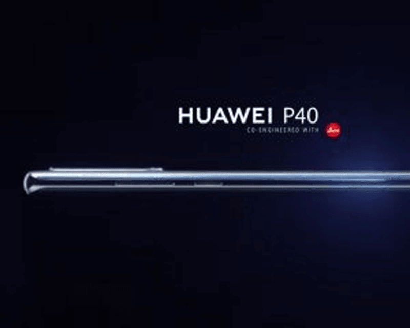 Alleged Huawei P40 Pro teaser image leaks a curved screen and Leica cameras