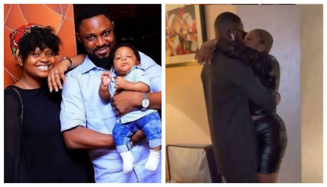 #BBBNaija Tega and her Husband reunite after her eviction (Video)