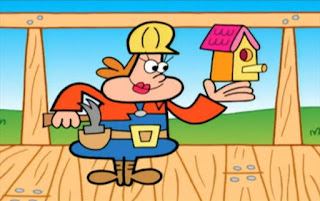 The Construction Lady introduces herself. Sesame Street Elmo's World Building Things TV Cartoon, The Building Things Channel