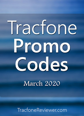 tracfone codes march 2020