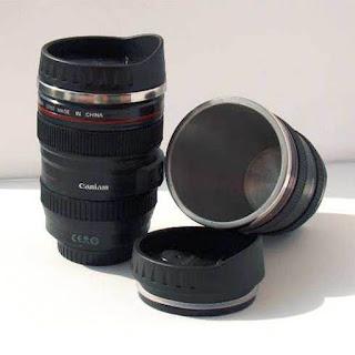 tumbler berbentuk kamera