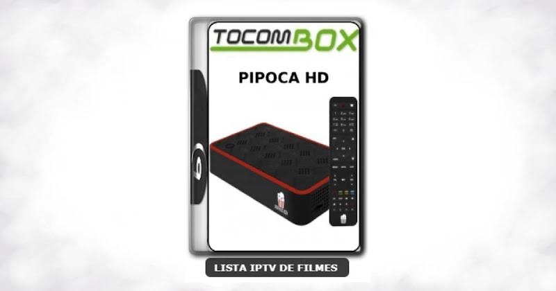Tocombox Pipoca HD Nova Atualização Correção Satélite SKS Keys 61w V1.37