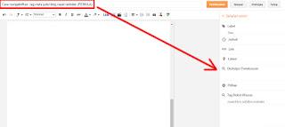 Cara mengaktifkan meta tag