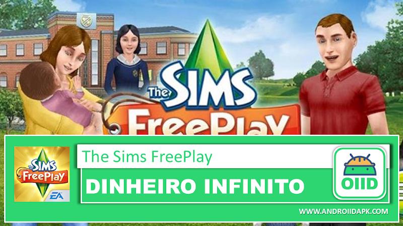 The Sims™ FreePlay v5.51.0 – APK MOD HACK – Dinheiro Infinito