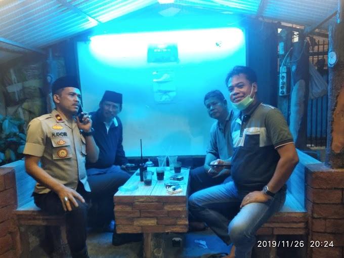 Kapolsek Dan Kanit Reskrim Polsek Cengkareng Pantau Pos-Pos Ronda