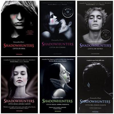 Risultati immagini per shadowhunters libri