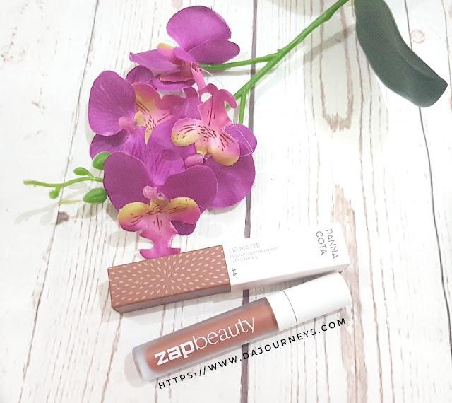 [Review] ZAP Beauty Lip Matte Pannacota