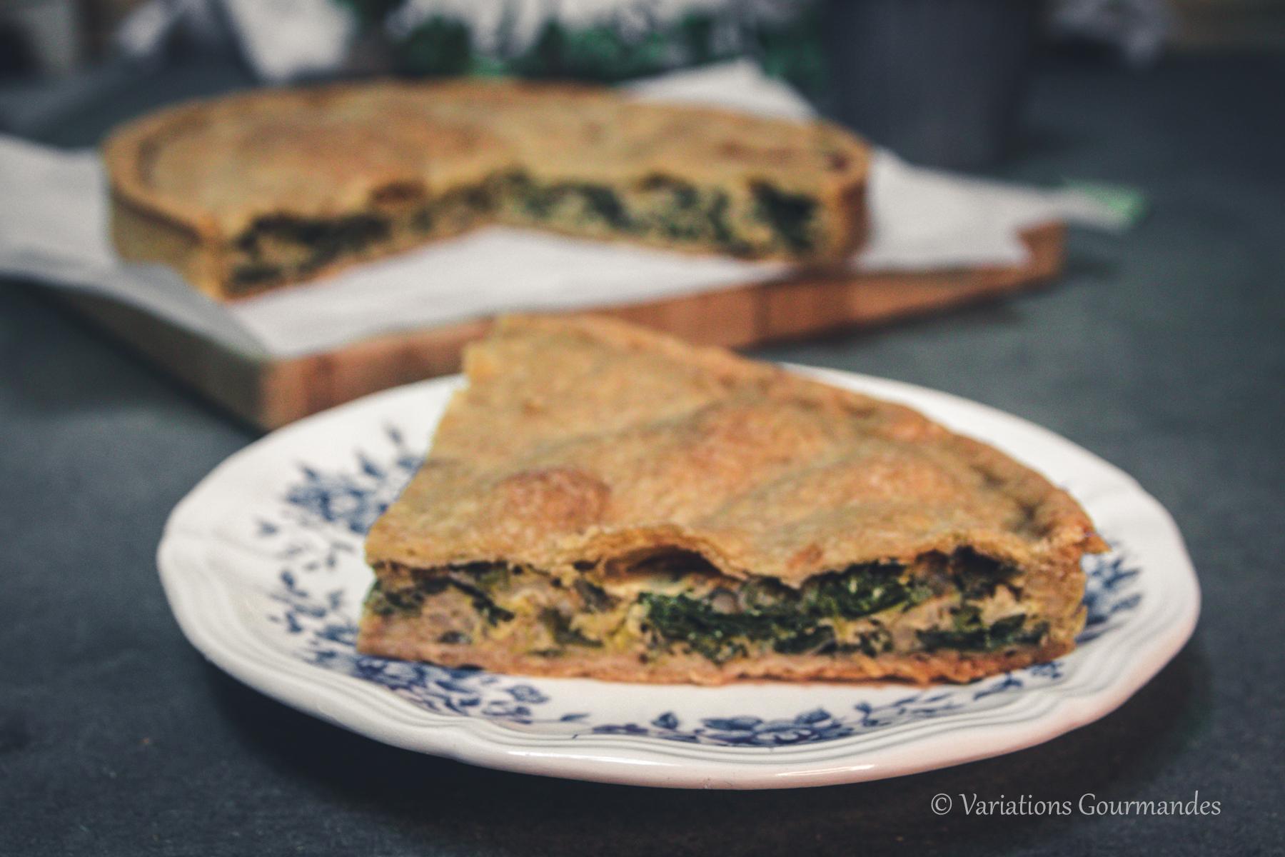recette, tourte, cuisine niçoise, variations gourmandes, cuisine locale
