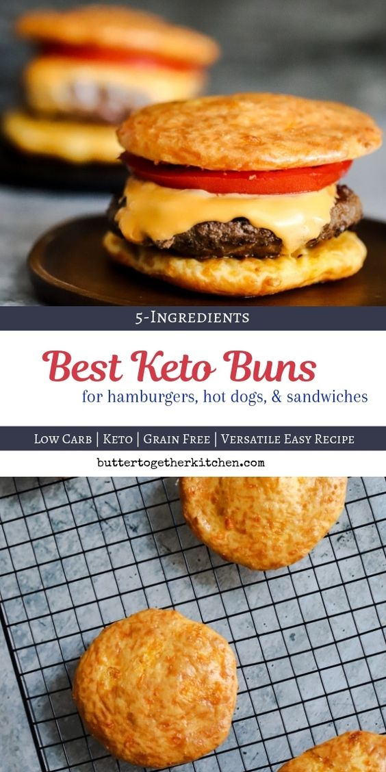 There are plenty of keto buns out there, but none of them are as tasty and easy to make as these! 15 minutes is all it takes to whip up a batch of these mouthwatering BEST keto buns. Not only are these super easy to make, but they're also super versatile!