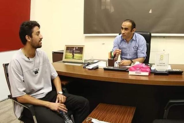 تفاصيل جلسة سيد عبدالحفيظ مع طاهر محمد طاهر