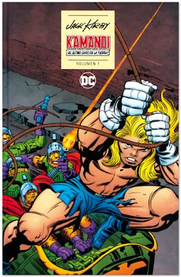 KAMANDI de Jack Kriby, Boyer y Berry el último chico de la Tierra edita DC ECC