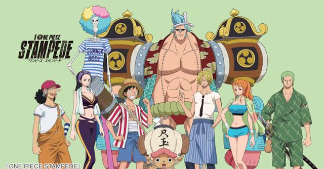 تقرير فيلم One Piece Movie 14 Stampede الاندفاع أك يل الأنمي