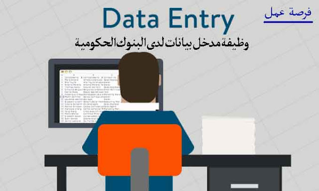 وظيفة مدخل بيانات