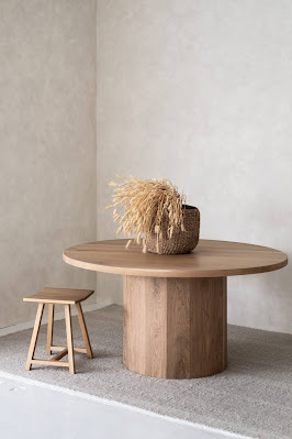 ilaria fatone. inspirations tables rondes contemporaines.