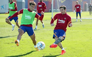 Messi and Coutinho to form new bond: Beautiful pictures from Barcelona Fridays  training session