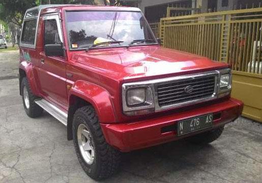 Jual Daihatsu Feroza Bekas Tahun 1999 ~ Mobil Bekas ...