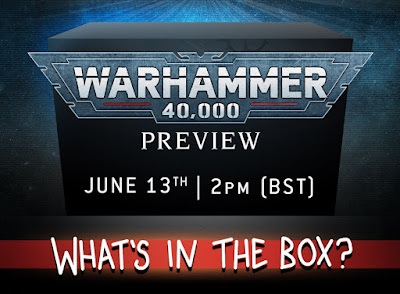 unboxing Warhammer 40000