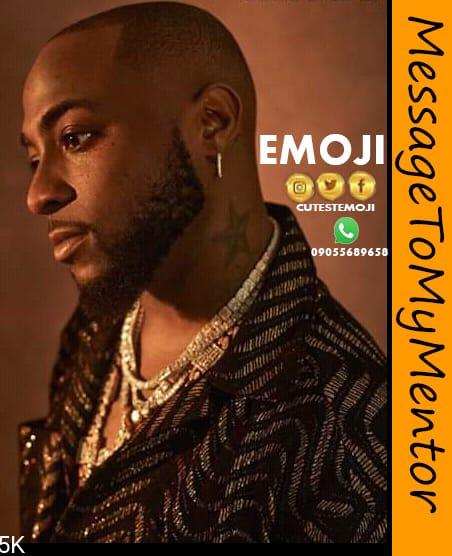 [Music] Emoji -  Message to my mentor (Davido) #Arewapublisize