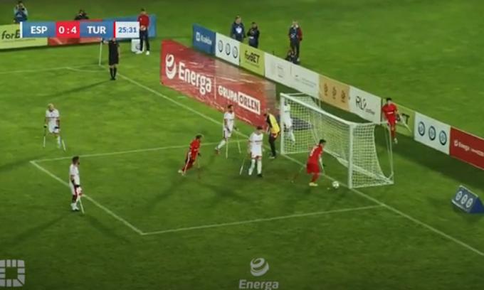 Turkey retained European Amputee Football Championship