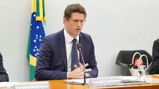 Salles pede a Bolsonaro demissão do Ministério do Meio Ambiente