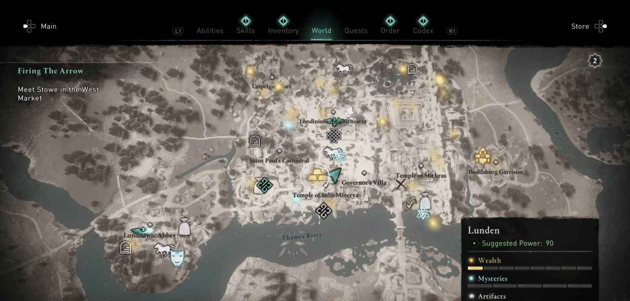 Lunden Ingot 39 Map 2