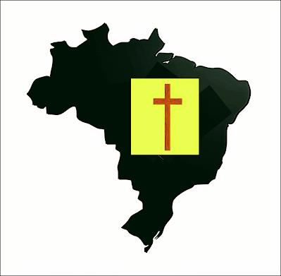 Mapa preto do Brasil e a  cruz, significa que  neste país  é impossível não morrer precoce.