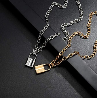 70%OFF Lock Necklaces for Women