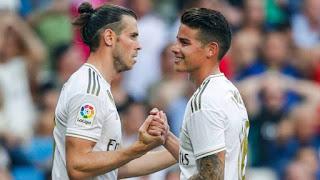 Real Madrid set asking price for  Bale €17m & €8.5m for James