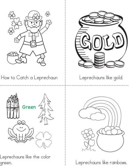 2017 St Patricks Day Crafts Worksheets Printables