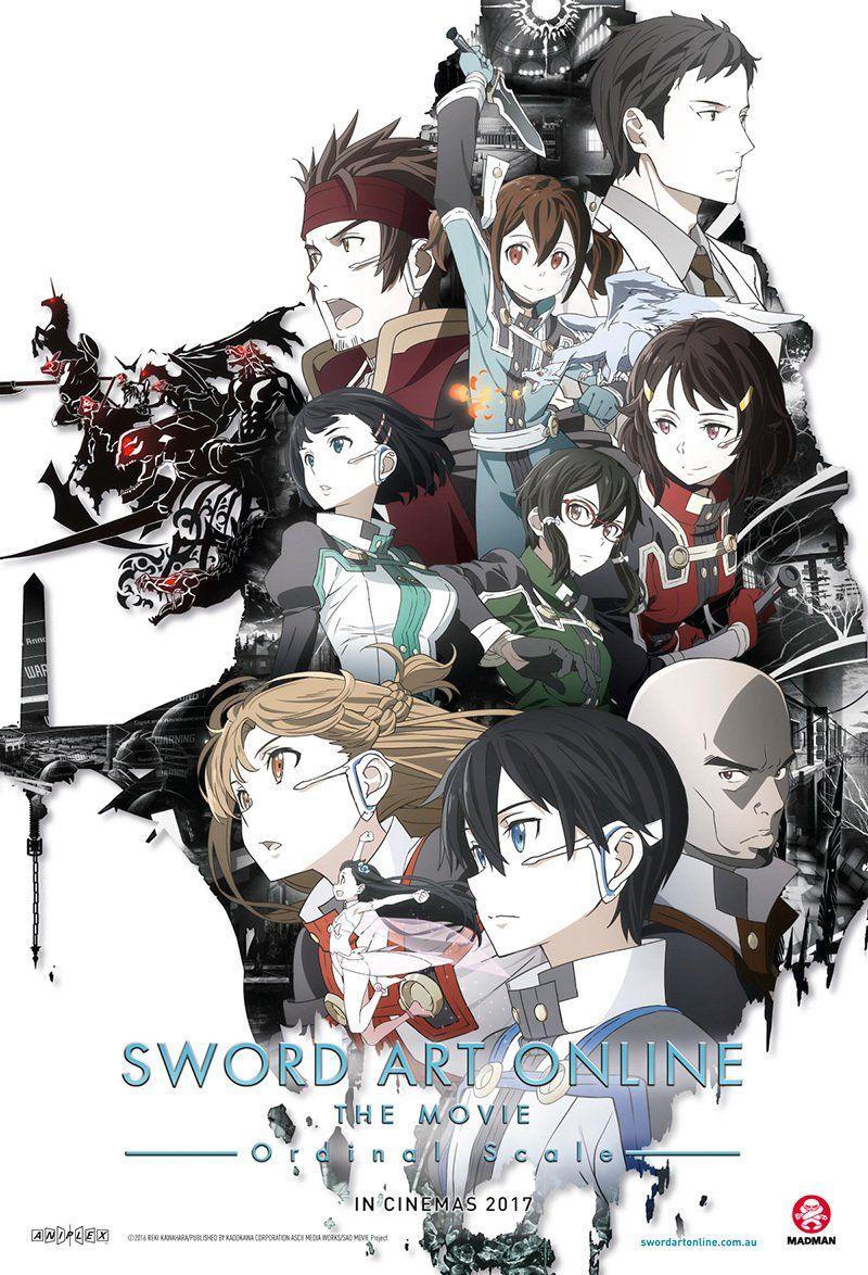 Sword Art Online – Ordinal Scale |Latino/Castellano/Japones + Sub. Esp| |BD Ligero 720p| Pelicula| |Mega|