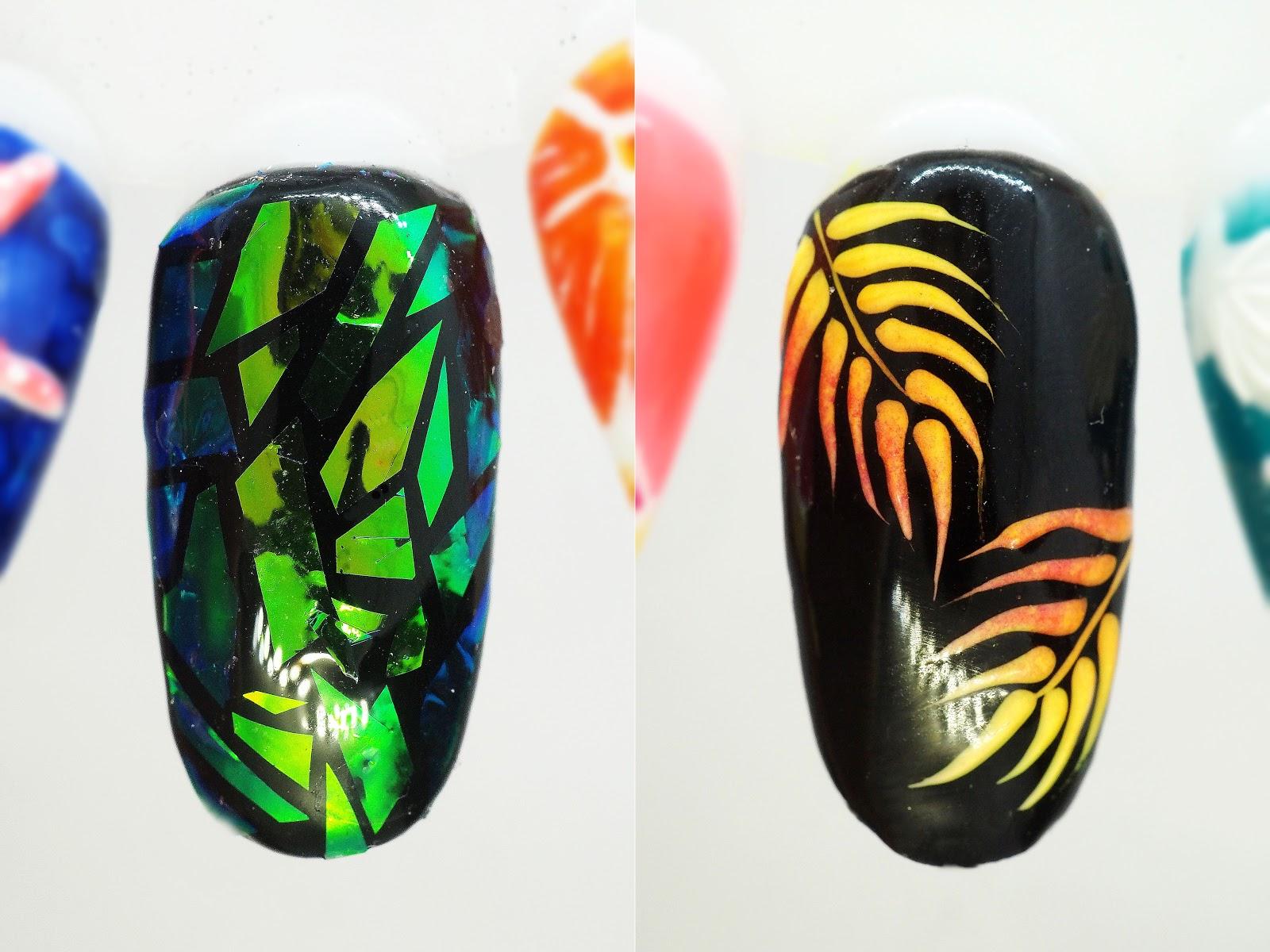 jak zrobić szklane paznokcie