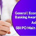 GA Questions Asked in SBI PO Main 2019: Check Here