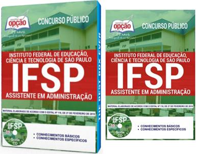 apostila concurso IFSP Universidade Federal de São Paulo