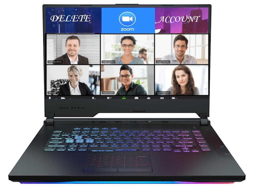 Cara Menghapus Akun Zoom Di Laptop Atau PC Dengan Mudah