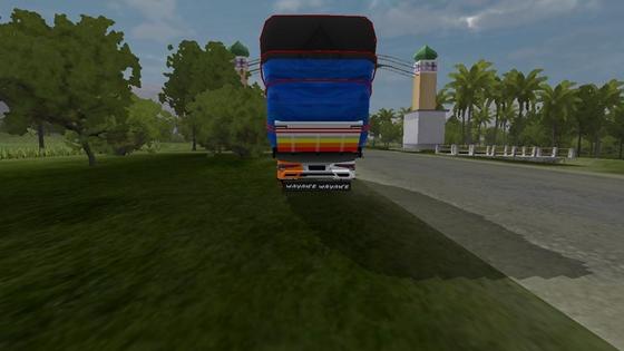 mod truck canter terpal gayor full muatan