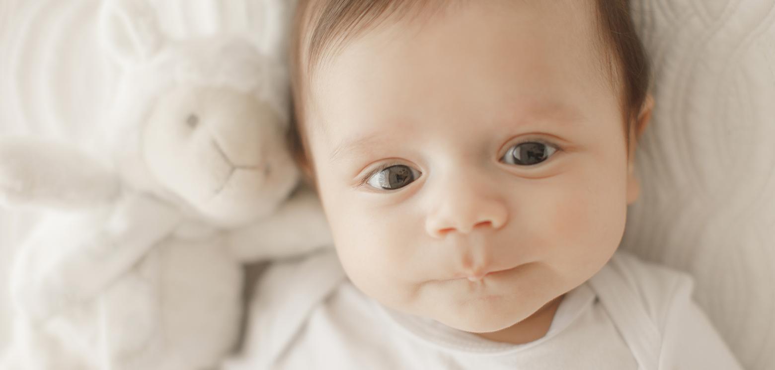 Fotografia bebê 3 meses