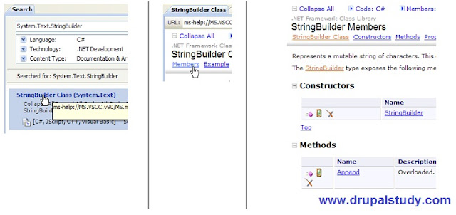 La classe System.Text.StringBuilder en C sharp