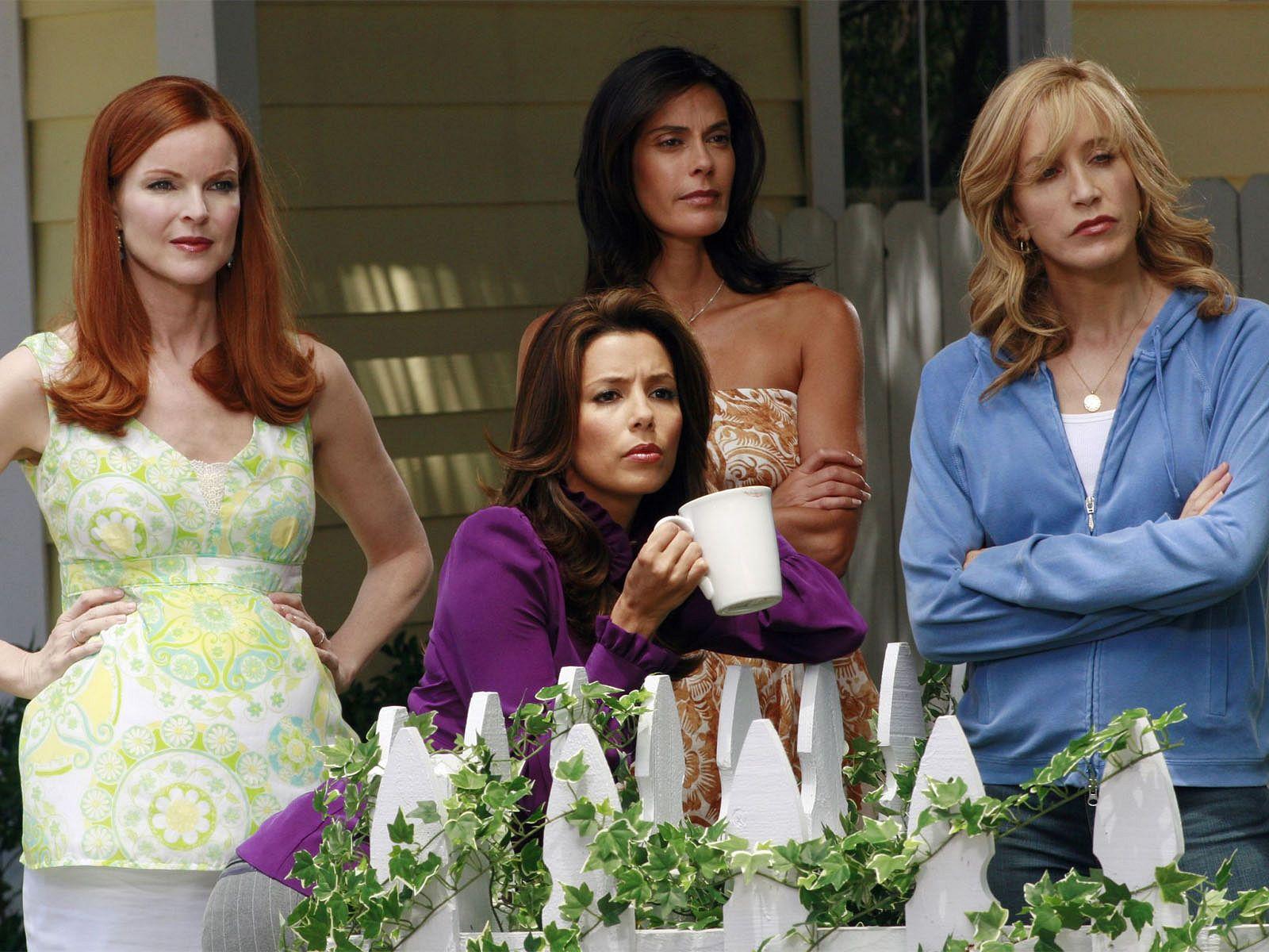 Susan, Lyenette, Bree y Gabrielle, en Mujeres Desesperadas