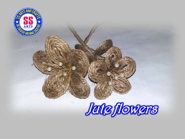 Here is jute crafts,jute wall hangings,crafts made from jute,jute work on pots,jute work on mirror,jute bage,jute wall decor,jute flowers,How to make jute flowers