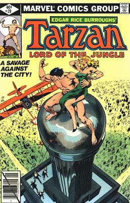 Tarzan #28, It's all gone King Kong