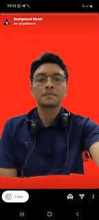 Cara Mendapatkan Filter Ig Background Merah Mudah